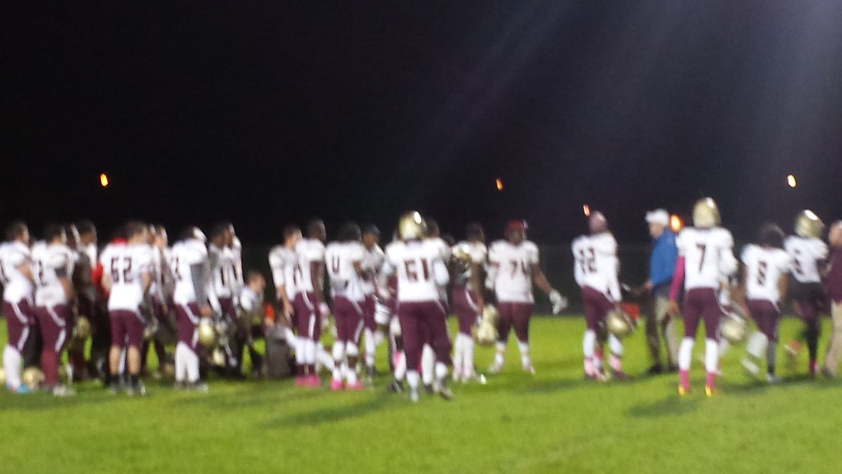 Cheektowaga walks off the field after securing its seventh straight division title with Friday's win at Maryvale.