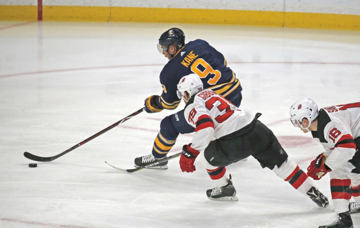 Evander Kane said the Sabres need to play better earlier in games. (Robert Kirkham/File Photo)