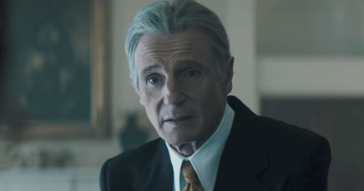 Liam Neeson stars as Mark Felt, the man known as 'Deep Throat' in the Watergate investigation.