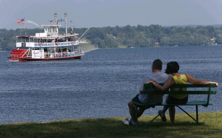 Mayville, the home to the Chautauqua Belle steamboat and Chautauqua Lake, is embarking on a large scale water improvement project in its village. (Robert Kirkham/Buffalo News file photo)