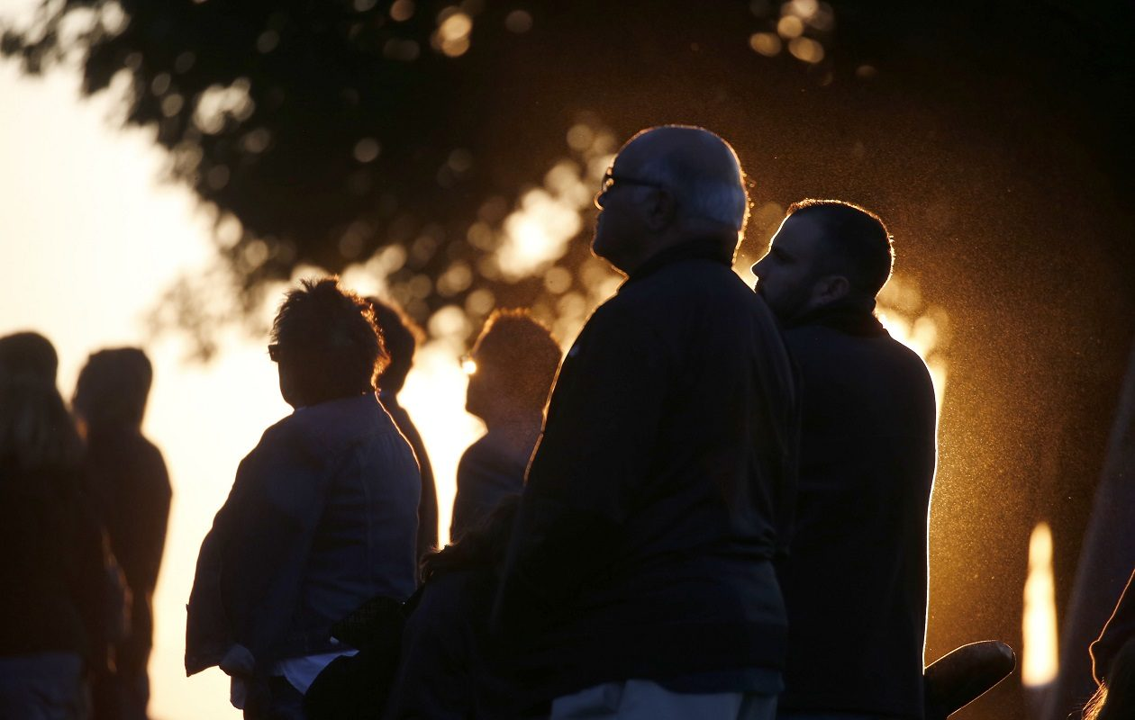 Candlelight memorial services have marked the fatal opioid epidemic in Erie County. But new county numbers show that the rate of overdose deaths is falling. (Robert Kirkham/News file photo)