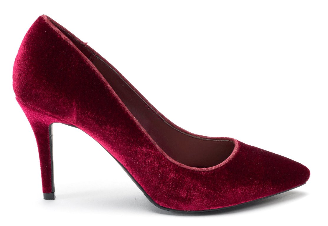 Shoes and boots come in many shades of red this fall. Apt. 9 wine velvet pumps are from kohls.com, select Kohl's stores.