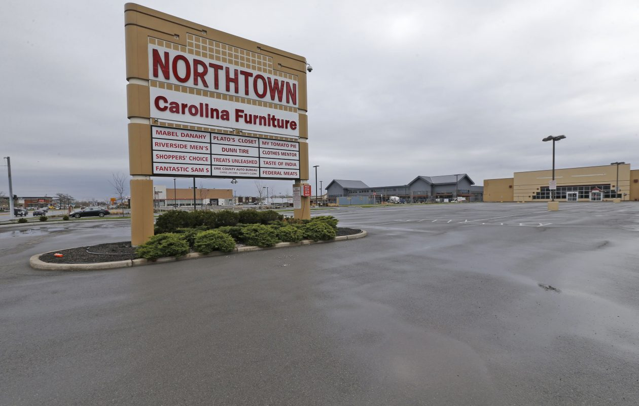 Northtown Plaza's owner begins the approval process with the Town of Amherst. (Robert Kirkham/Buffalo News)
