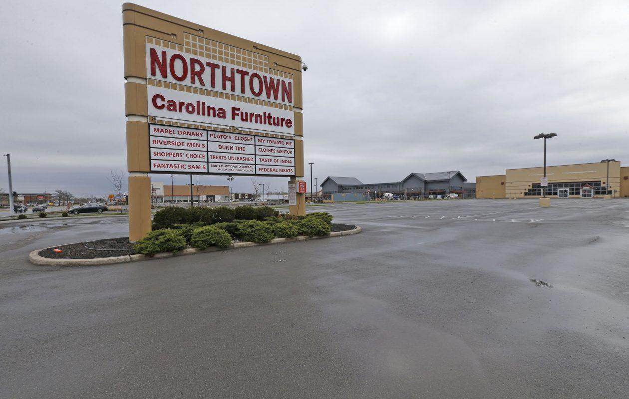 Most Northtown Plaza stores have moved. (Robert Kirkham/Buffalo News)