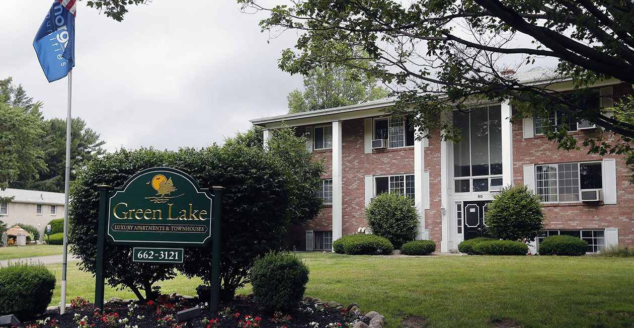 Green Lake Apartment, which Robert Mogan's company bought in September 2013, in Orchard Park. (Mark Mulville/News file photo)