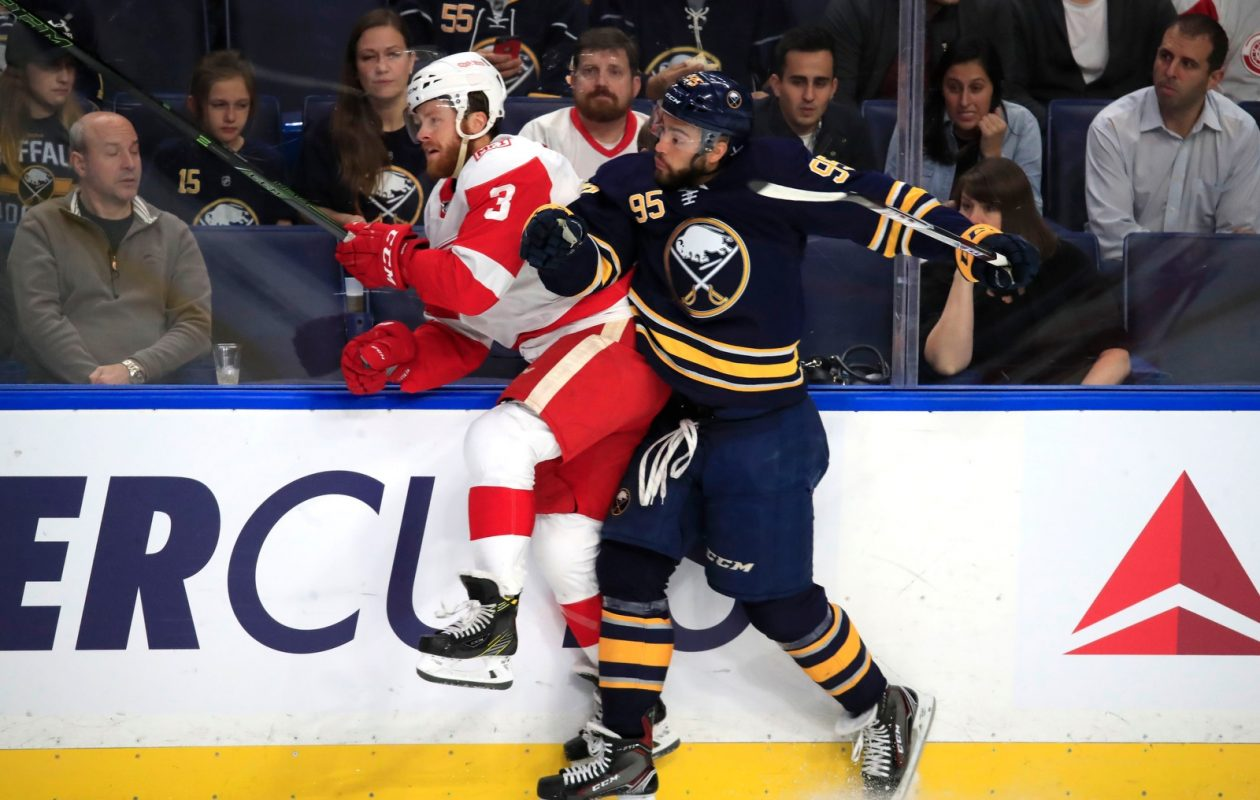 Sabres coach Phil Housley felt Justin Bailey's physical play took a dip after a hot start. (Harry Scull Jr./News file photo)