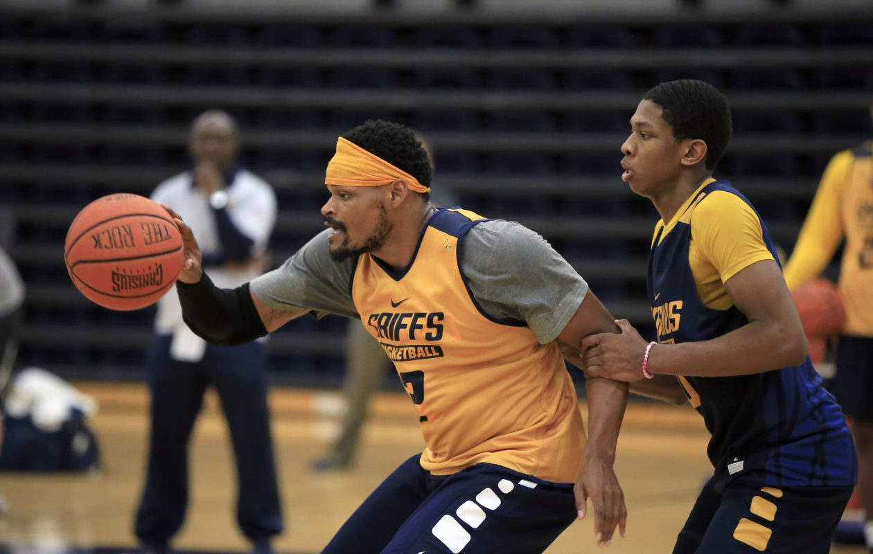 Jermaine Crumpton led Canisius in scoring last season with a 15.9-point average and has slimmed down for his senior season. (Harry Scull Jr./Buffalo News)