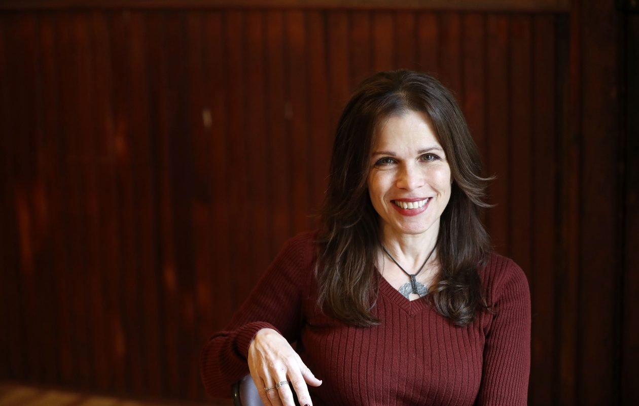 Acting teacher Josie DiVinzenco at her studio in Buffalo Monday, Nov. 13, 2017.    (Mark Mulville/Buffalo News)