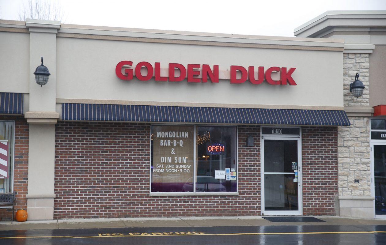 Golden Duck restaurant in Amherst has an all-you-can-eat lunchtime buffet. (Robert Kirkham/Buffalo News)