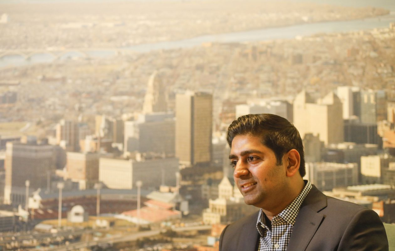 Sarfraz Maredia, northeast regional general manager for Uber, expects ridership to keep growing.  (Derek Gee/Buffalo News)