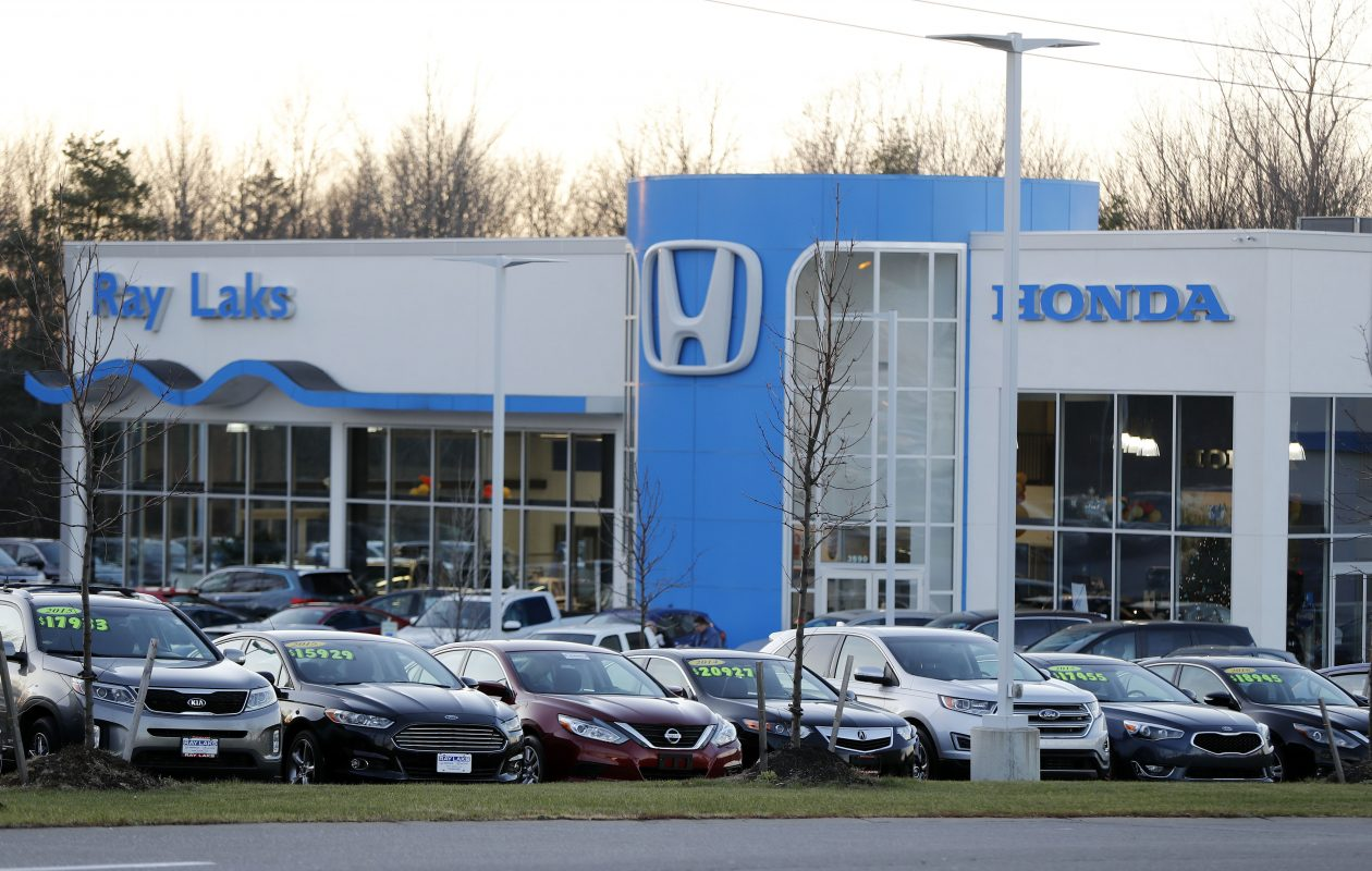 Ray Lakshas a Honda dealership on SouthwesternBoulevard in Orchard Park.   (Mark Mulville/Buffalo News)