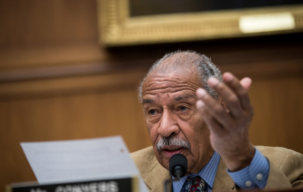 House Minority Leader Nancy Pelosi has called for  Rep. John Conyers Jr. , 88,  to resign. (Getty Images)
