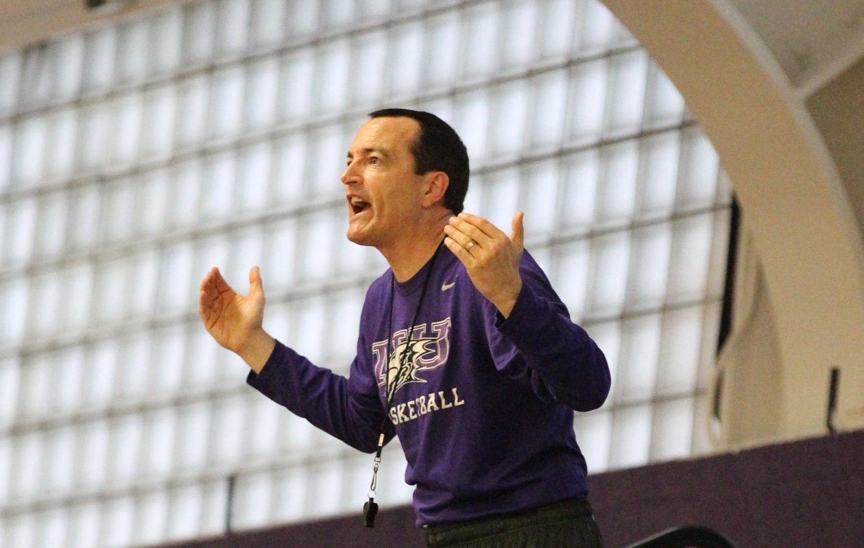 Chris Casey's Niagara University men's basketball team will play in its first CIT. (James P. McCoy/ Buffalo News)