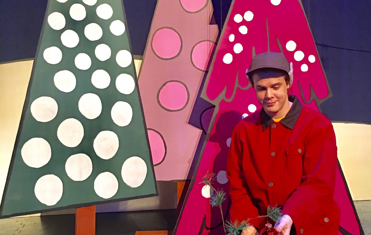 "Dan Urtz plays the title role in Theatre of Youth's production of ""A Charlie Brown Christmas."""