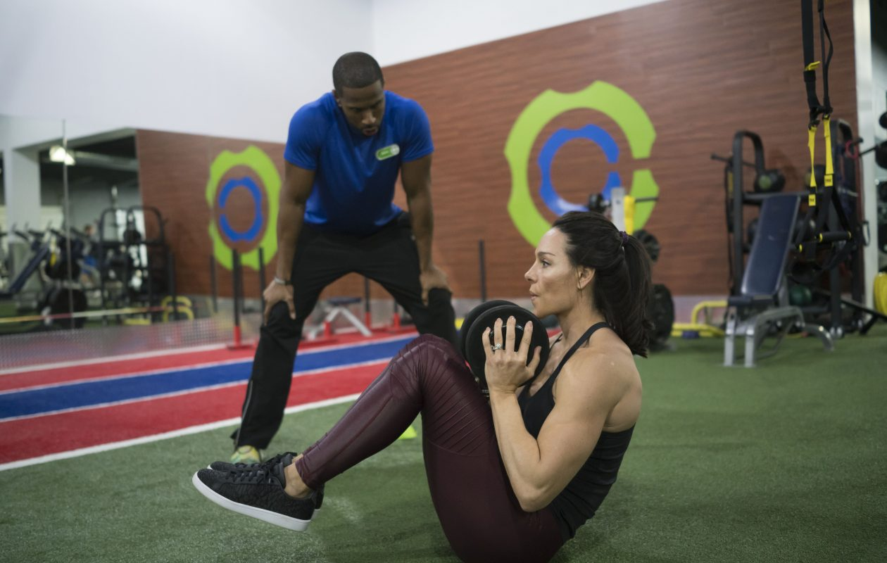 Locally owned Catalyst Fitness is one of several fitness center chains in Western New York.  (Derek Gee/Buffalo News)
