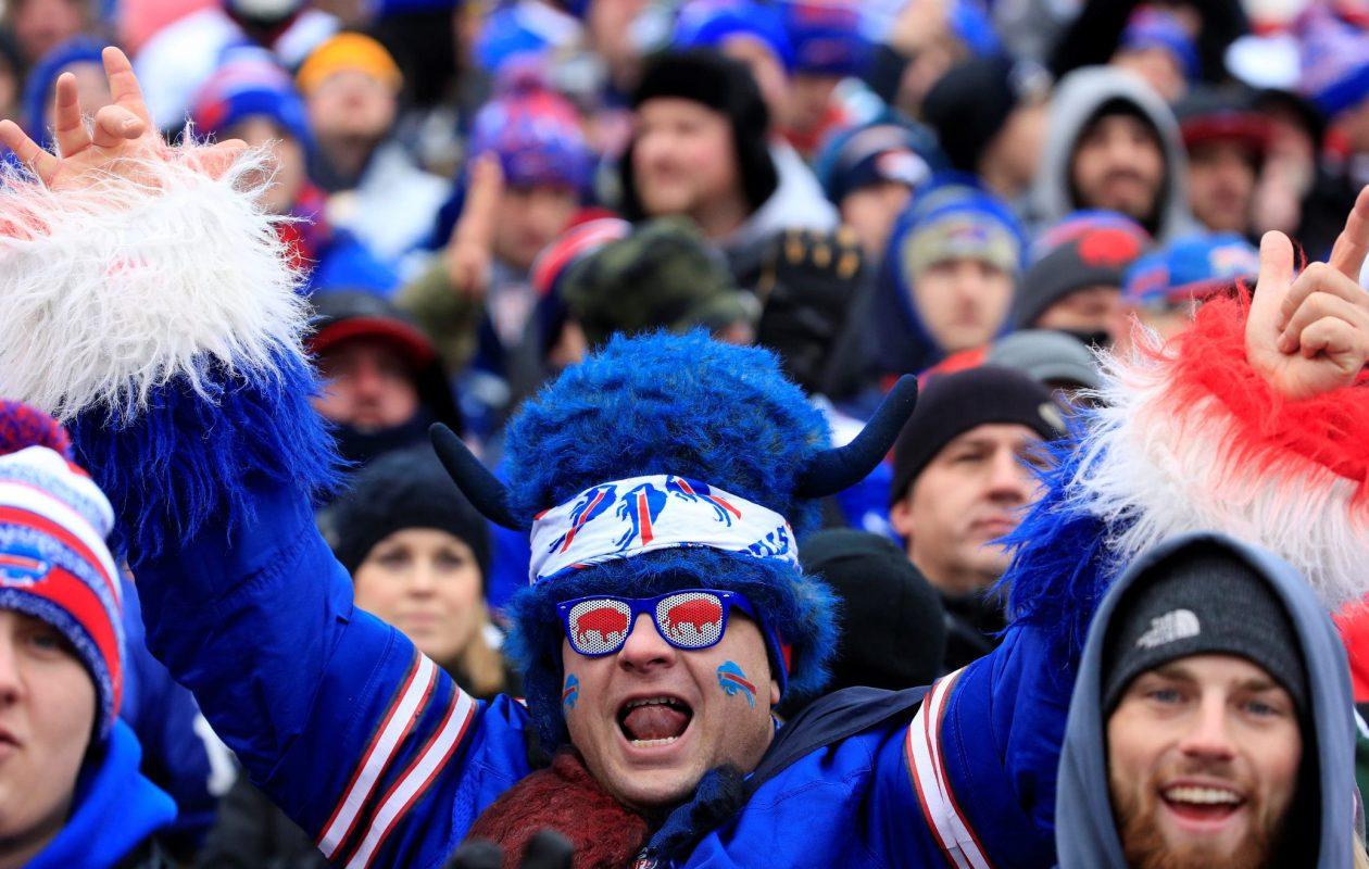 Bills fans should bundle up for Sunday's game. (Harry Scull Jr./News file photo)