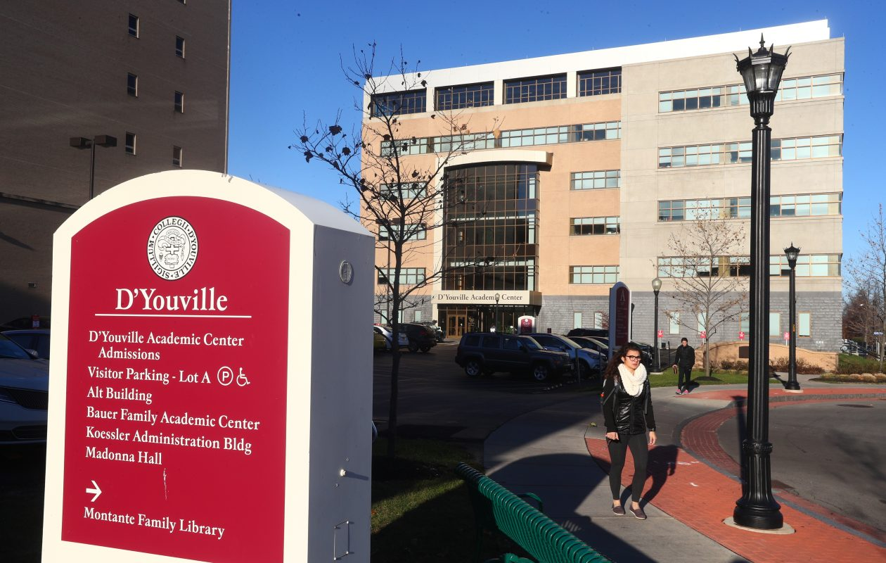 D'Youville College wants to improve its standing as a leading educator of health care professionals. (John Hickey/Buffalo News)