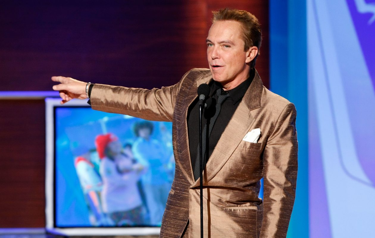 Actor/singer David Cassidy. (Getty Images)