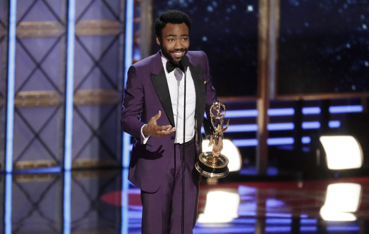 Donald Glover wins Outstanding Lead Actor in a Comedy Series during the show at the 69th Primetime Emmy Awards. (Robert Gauthier/Los Angeles Times/TNS)