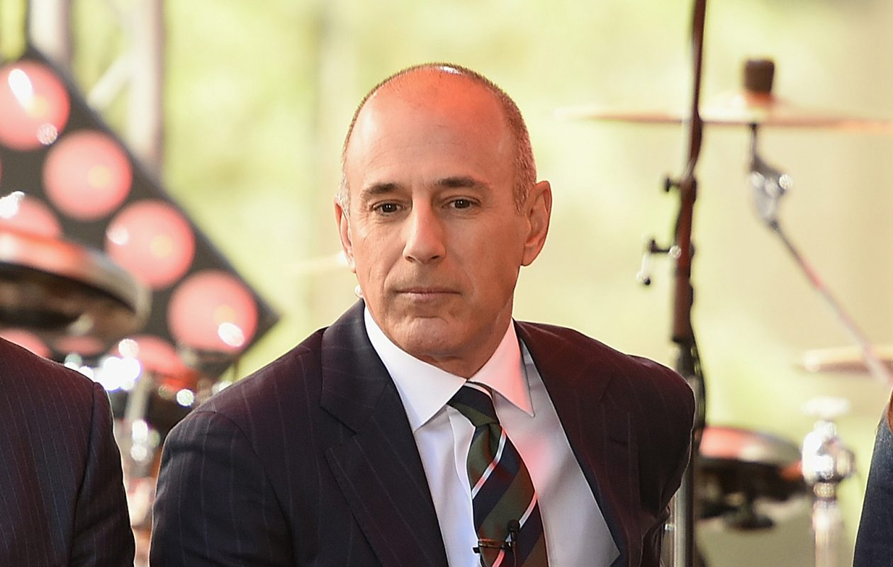 Longtime 'Today' show host Matt Lauer has been fired after a complaint of 'inappropriate sexual behavior in the workplace.' (Getty Images file photo)