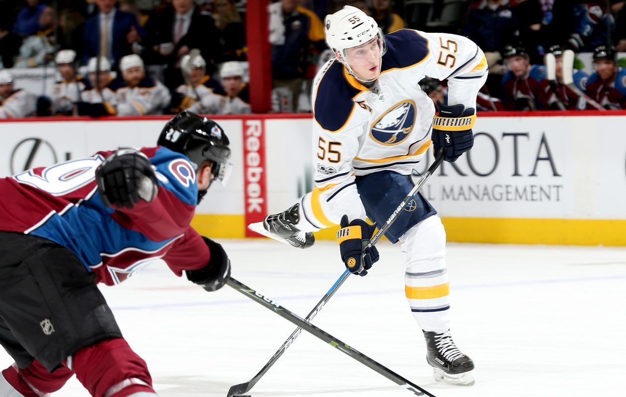 Rasmus Ristolainen is skating 27:09 per game, the most in the NHL. (Getty Images)