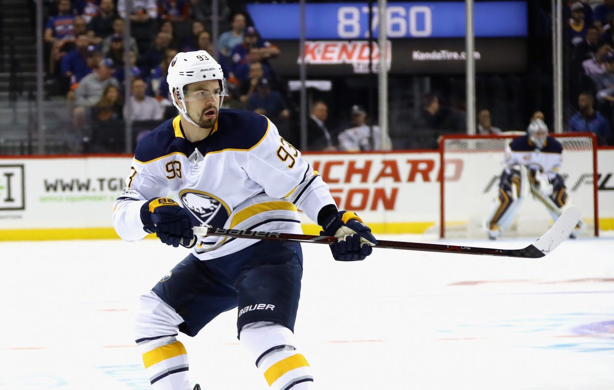 Victor Antipin is joining the Sabres' top power-play unit. (Getty Images)