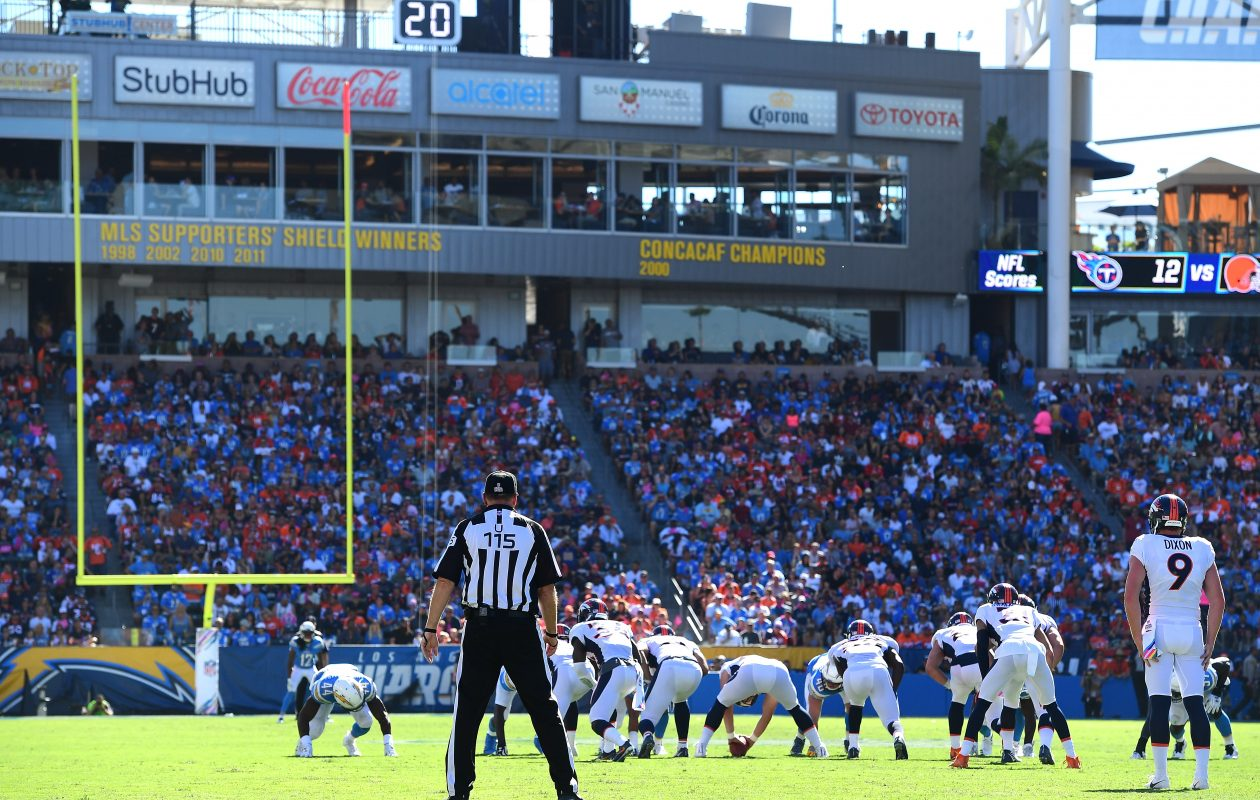 The Chargers play at StubHub Stadium. (Getty Images)