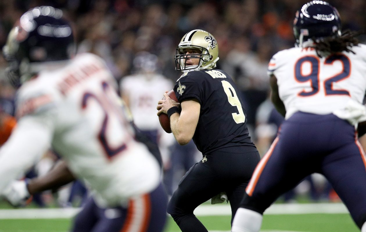Drew Brees and Tyrod Taylor should be an interesting matchup. (Getty Images)