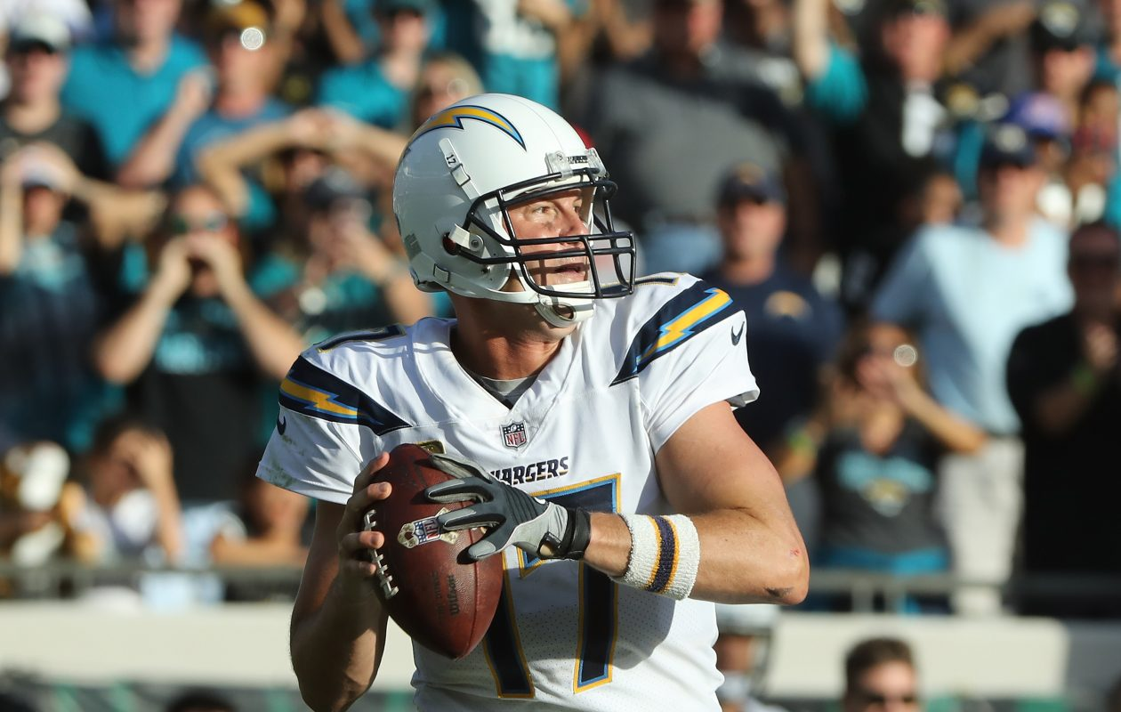Philip Rivers of the Los Angeles Chargers. (Getty Images)