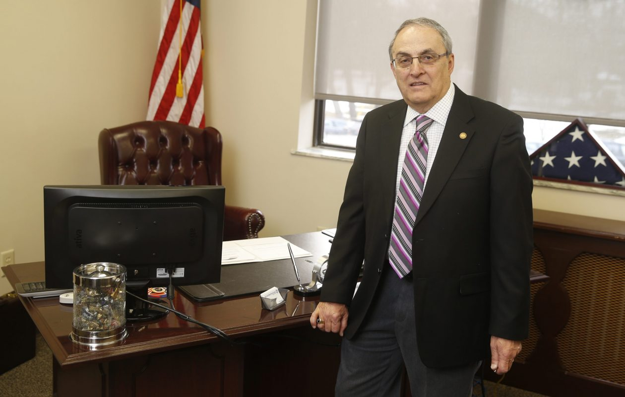 North Tonawanda Mayor Arthur Pappas wins re-election in Tuesday's race.  (John Hickey/Buffalo News file photo)