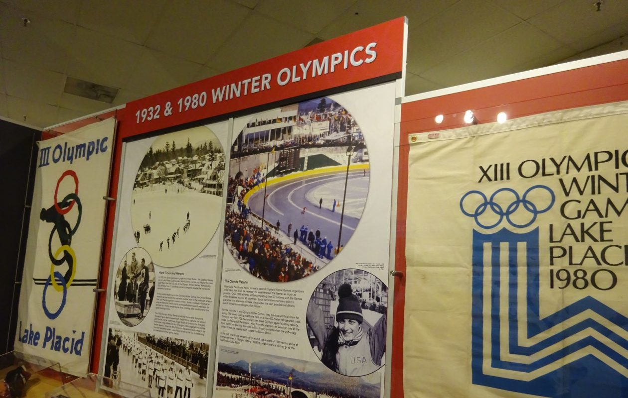 The Olympic Museum in Lake Placid. (Photo by Christine A. Smyczynski)