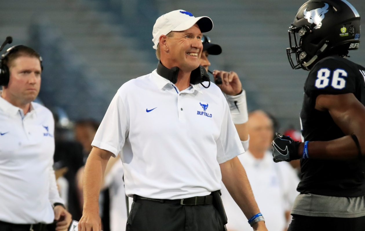 """I want our program to be successful,"" says UB football coach Lance Leipold. (Harry Scull Jr./ Buffalo News)"