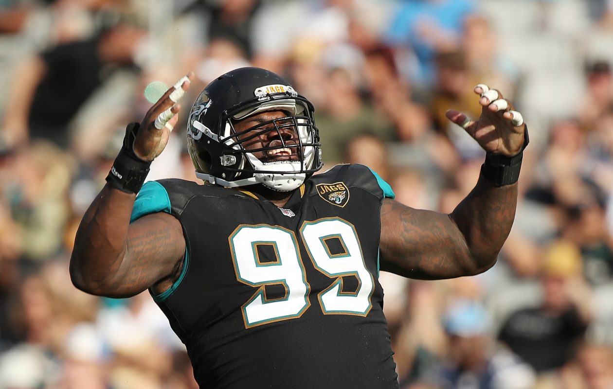 Marcell Dareus was playing limited snaps before he left, and the defense was doing fine, Sully says. (Logan Bowles/Getty Images)