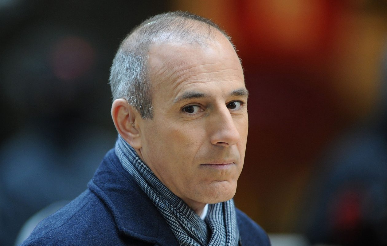 Matt Lauer, here in 2012, was fired this morning from NBC's 'Today' show following a sexual harassment complaint. (Slaven Vlasic/Getty Images)