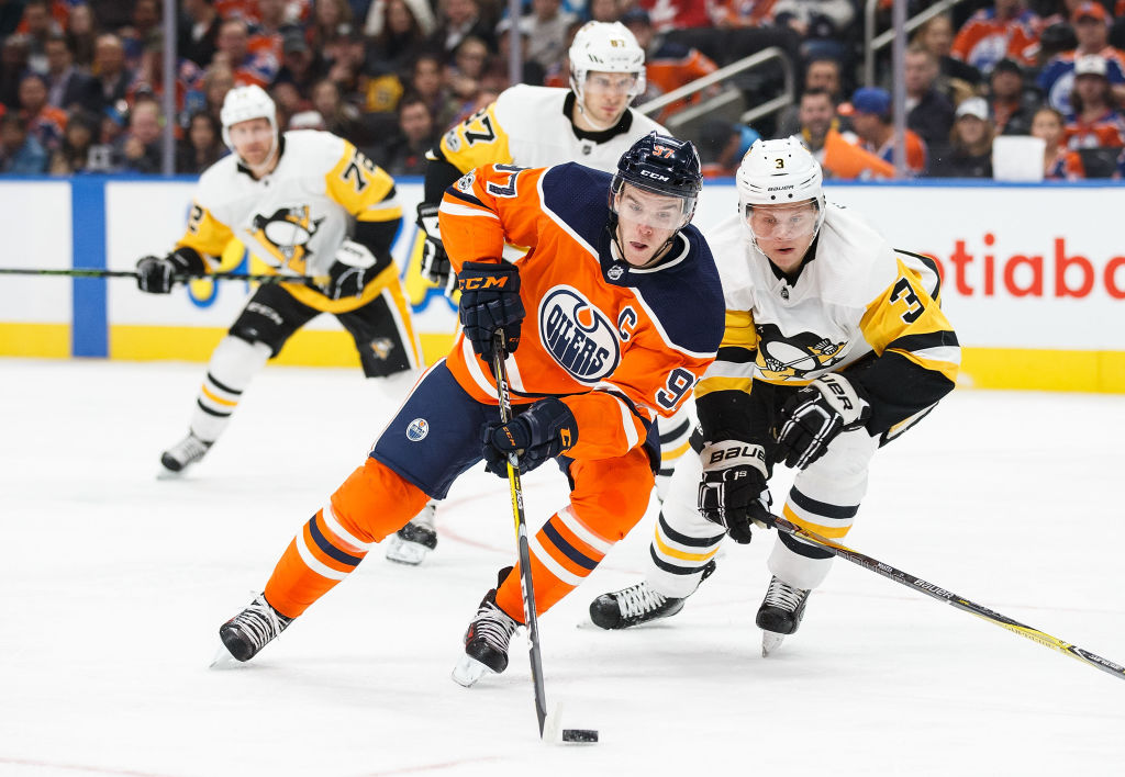 Connor McDavid isn't getting much help this year in Edmonton. (Getty Images)