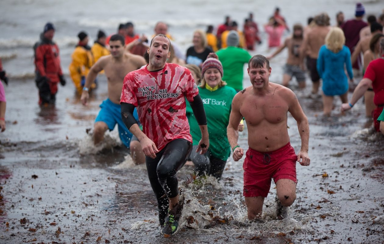 The Polar Plunge leads off the 10 for the weekend of Dec. 1-3. See what else makes the list of what to do in the Buffalo area. (Chuck Alaimo/Special to The News)