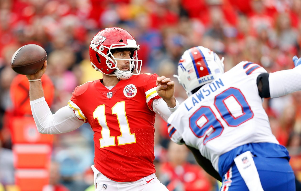 Kansas City Chiefs quarterback Alex Smith. (Getty Images)