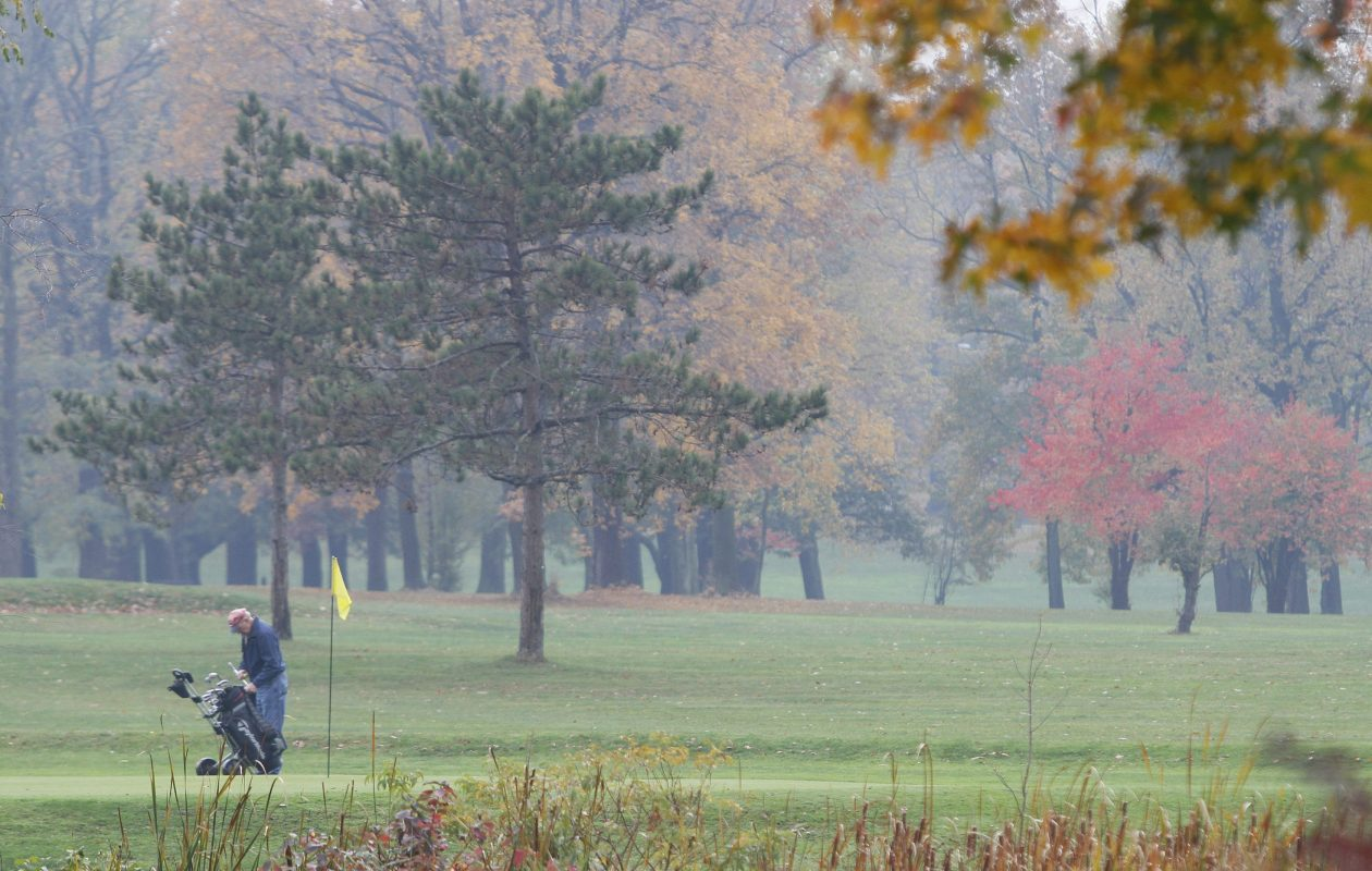 The golf course in South Park would be replaced by the arboretum envisioned by Olmsted. A better, Jack Nicklaus-designed golf course would be created nearby. {Mark Mulville / Buffalo News file photo}