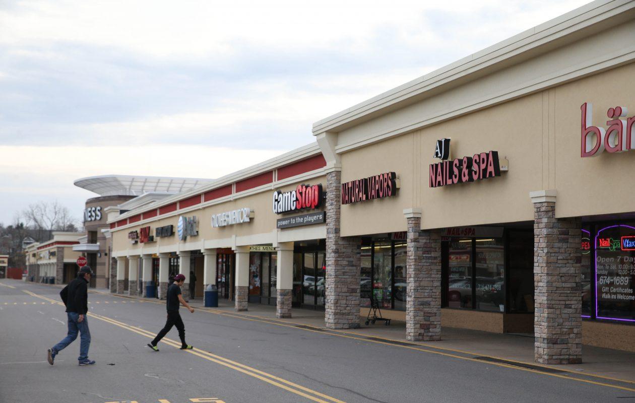 Southgate Plaza in West Seneca, pictured on Monday, Nov. 28, 2016. (Sharon Cantillon/Buffalo News)