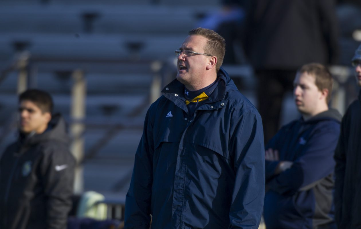 Scott Teeter coached Canisius' women's lacrosse team for 17 seasons. (Photo courtesy of Canisius athletics)