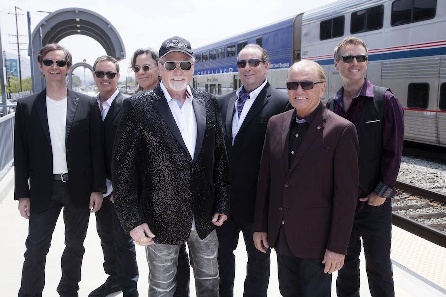 The Beach Boys perform at the Riviera Theatre.