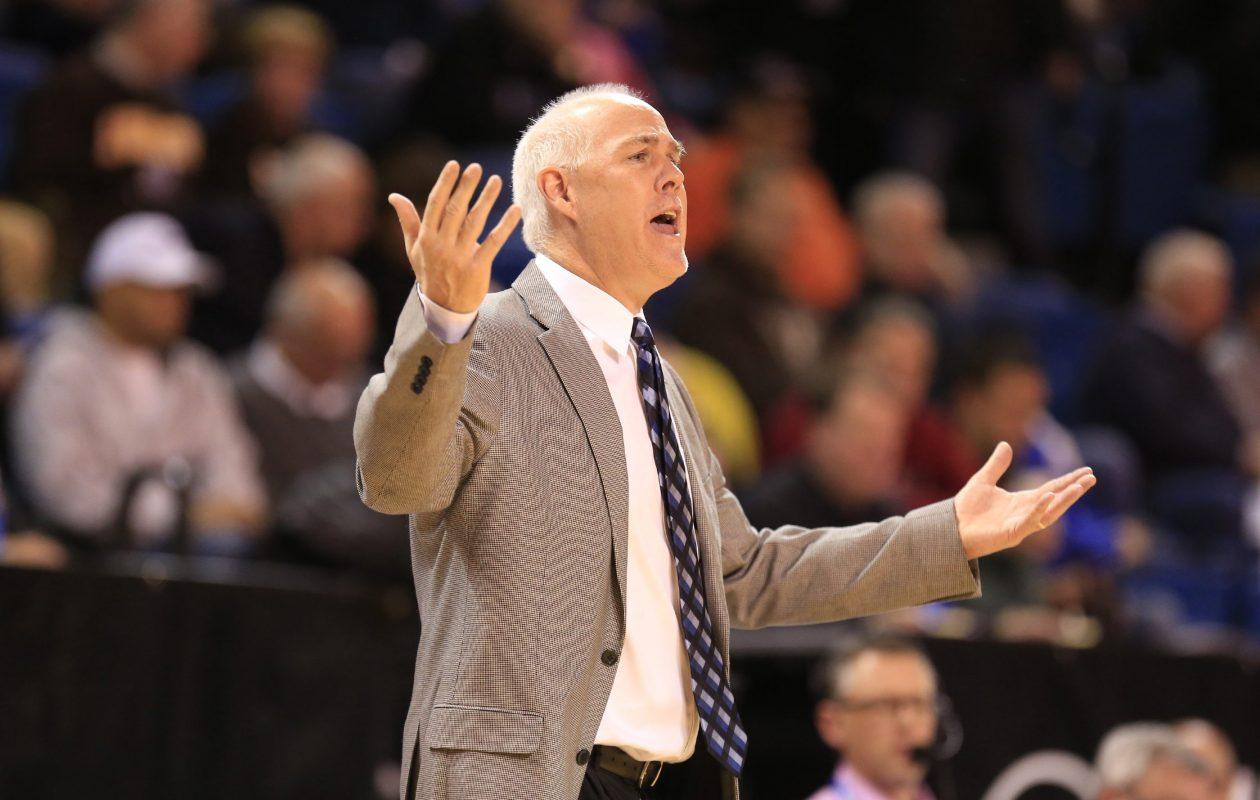 St. Bonaventure  coach Mark Schmidt. (Harry Scull Jr./Buffalo News)