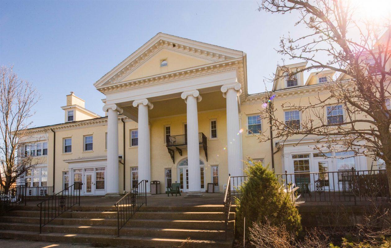 The former St. Columban Center has been sold. (Derek Gee/News file photo)