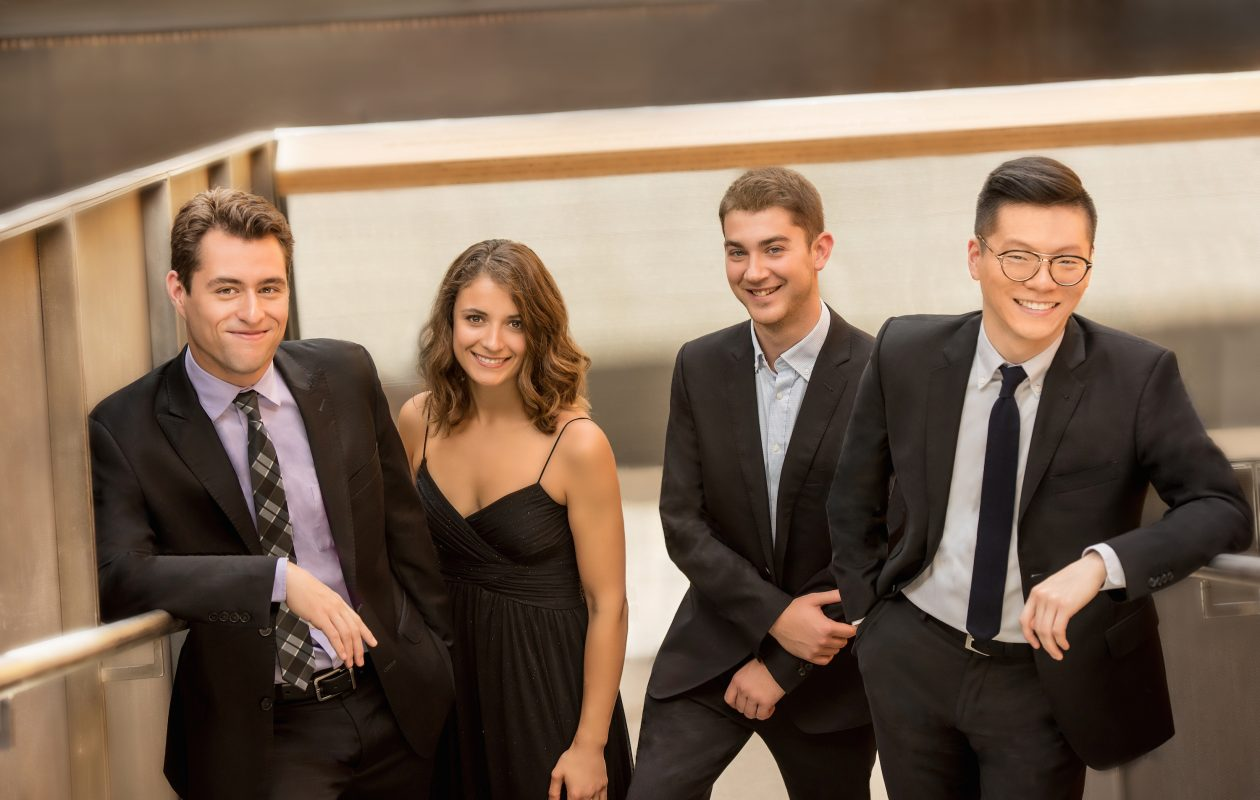 The Dover Quartet, in demand worldwide, is playing Tchaikovsky in Buffalo.