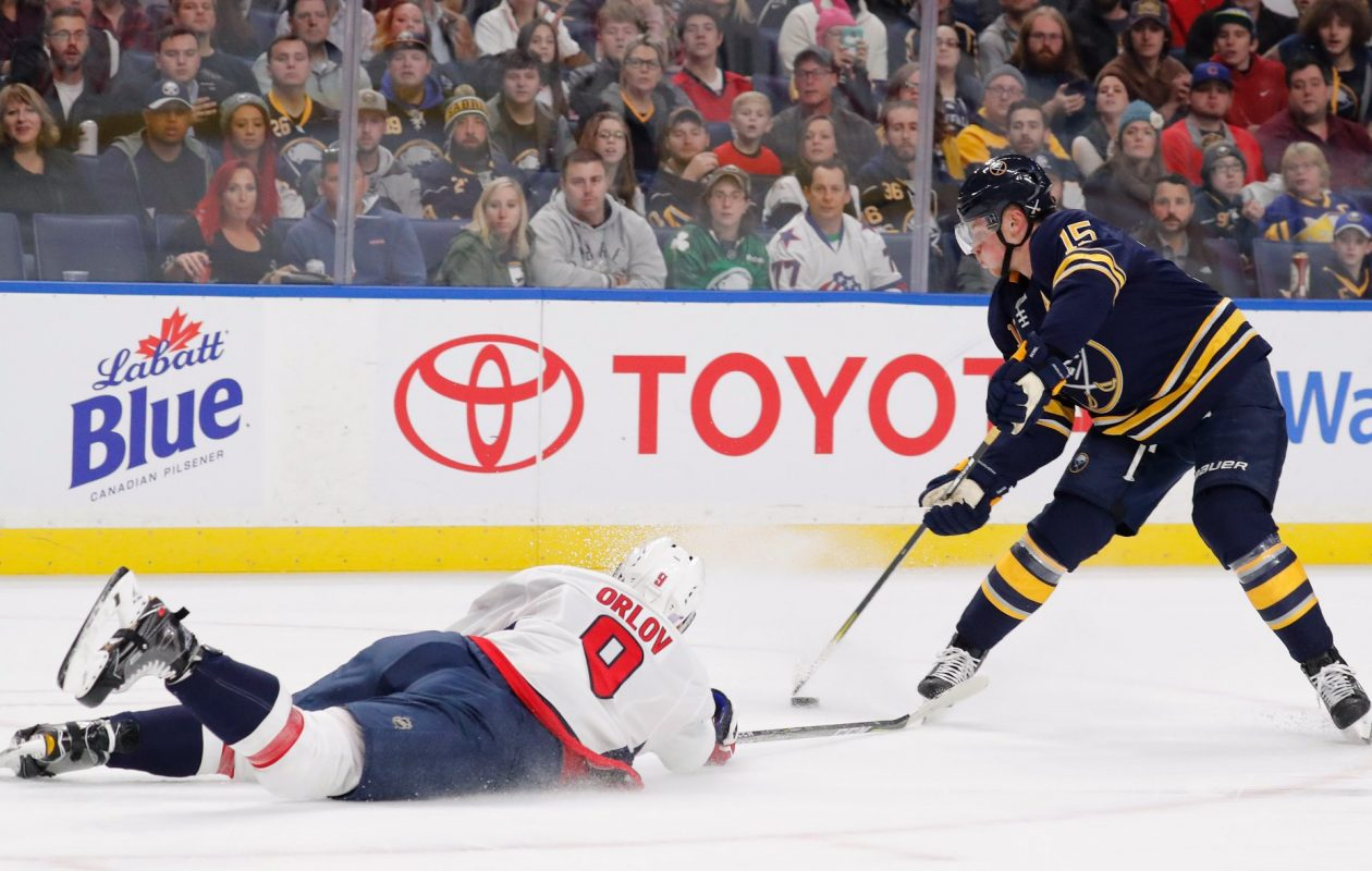 Jack Eichel knows he needs to shoot more. (Mark Mulville/News file photo)