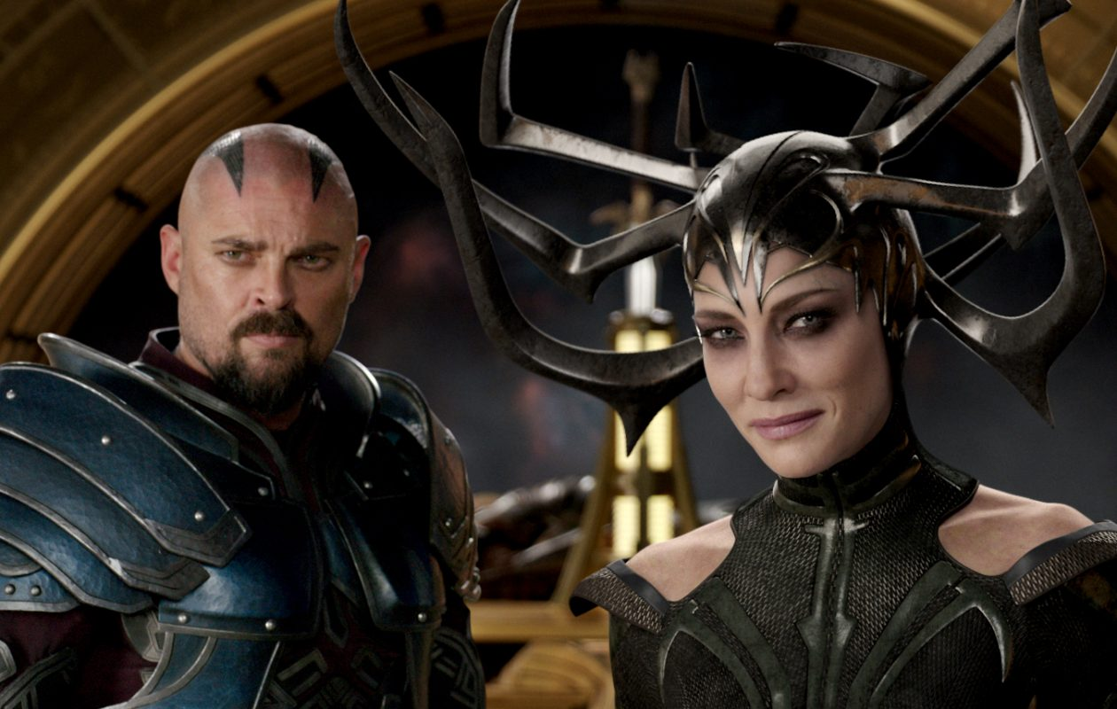 'Thor: Ragnarok,' starring Karl Urban and Cate Blanchett, will be shown at the Transit Drive-In. (Film Frame-Walt Disney Studios Motion Pictures-Walt Disney Pictures)