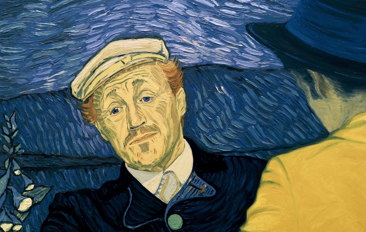 'Loving Vincent' features characters from Vincent Van Gogh's paintings, such as Dr. Paul Gachet. (Good Deed Entertainment)