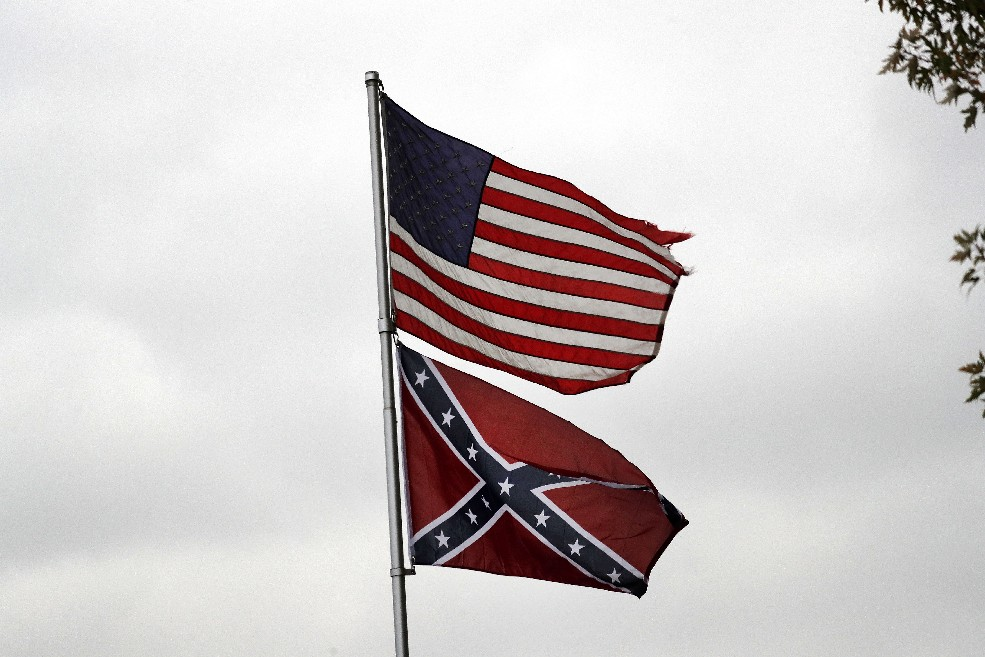 The Confederate flag flying at a Town of Tonawanda home is a reminder that it is not just the South that needs to come to grips with what the flag really stands for. (Mark Mullville/Buffalo News)