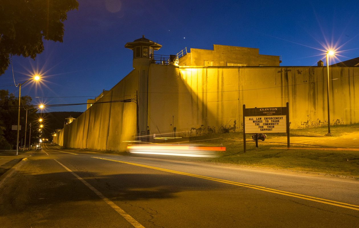 David Sweat, the prisoner who escaped from Clinton Correctional Facility, above, in 2015, has been transferred from a maximum security prison in Seneca County to Attica. (Nancie Battaglia/Special to The News)