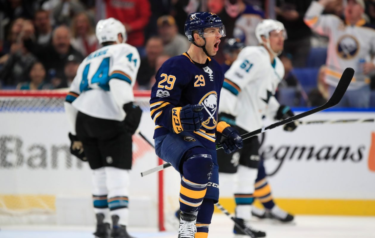 Jason Pominville will play his first game against Minnesota since the Wild traded him to Buffalo over the summer. (Harry Scull Jr./File Photo)